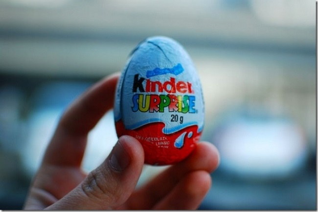 В США нельзя продавать и ввозить шоколадные яйца Киндер Сюрприз