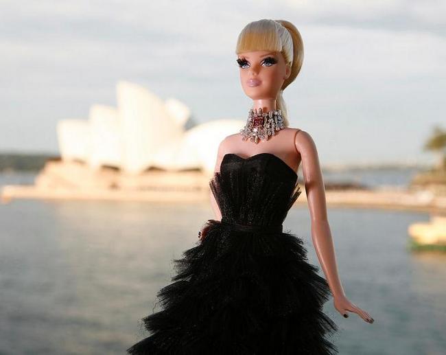 Барби  от Mattel и Stefano Canturi