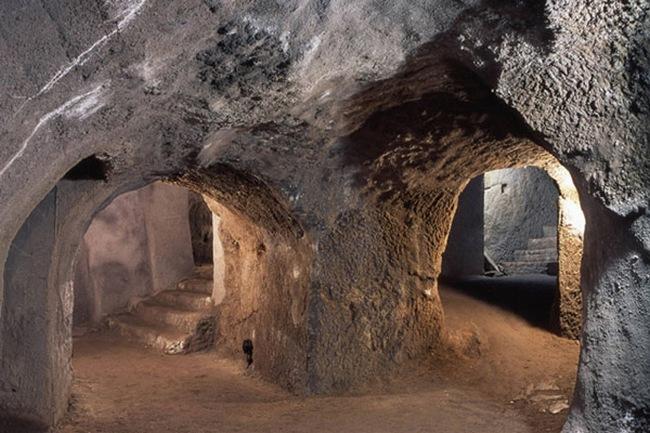 Чешские катакомбы