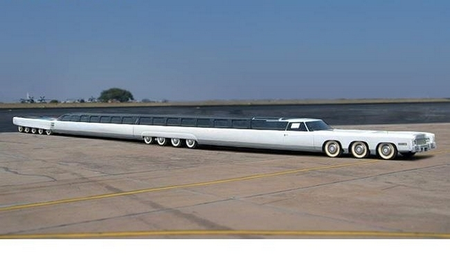 Самый длинный в мире автомобиль Джея Орберга