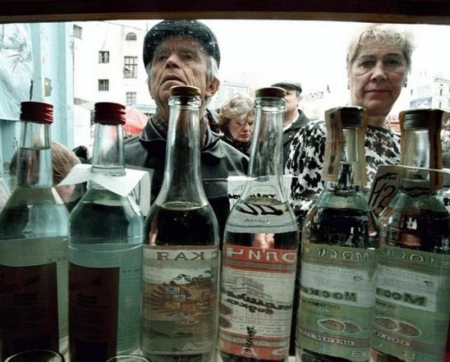Половина употребляемого алкоголя в Белоруссии составляют крепкие напитки