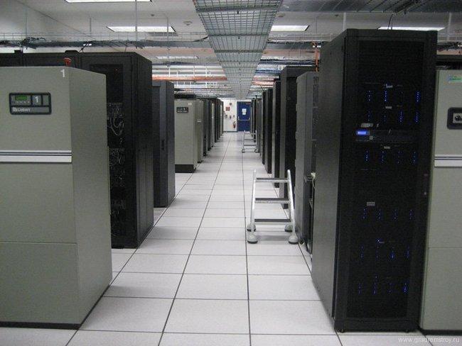 Хранилище информации в подземном городе компании Iron Mountain