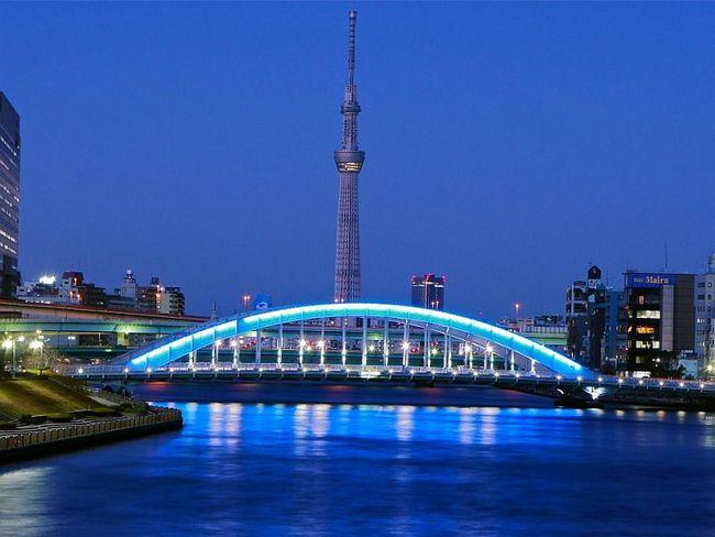 Токийскую телебашню построили за 5 лет