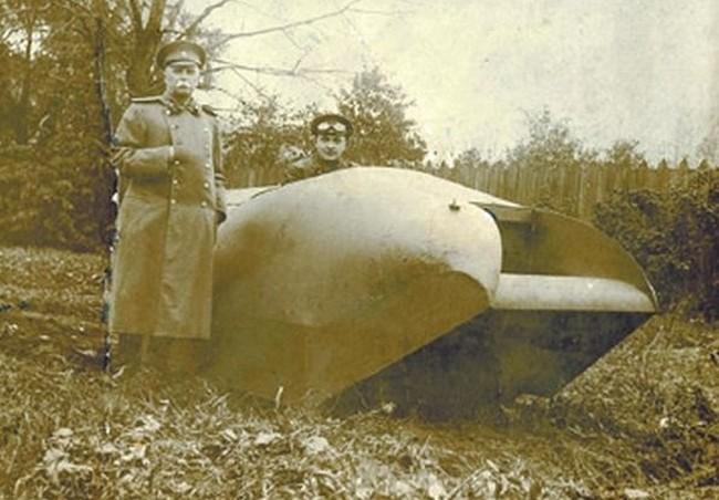 Самый первый танк в мире был создан А.А.Пороховщиковым