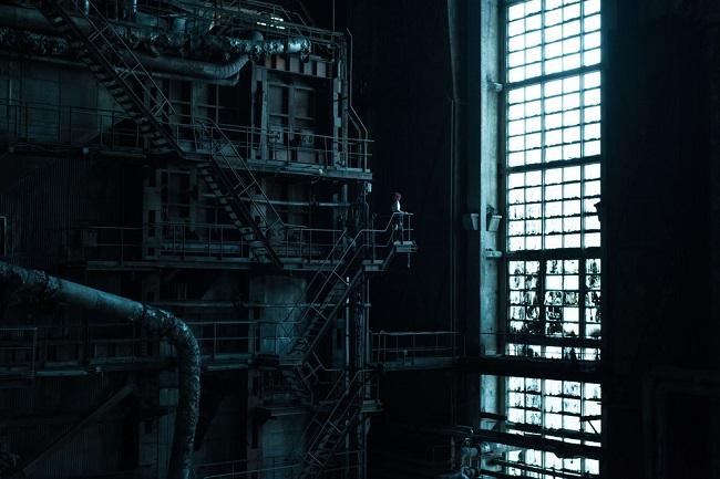 Внутри электростанции