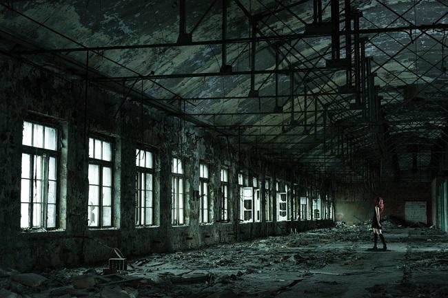 Забытый завод 19-го века