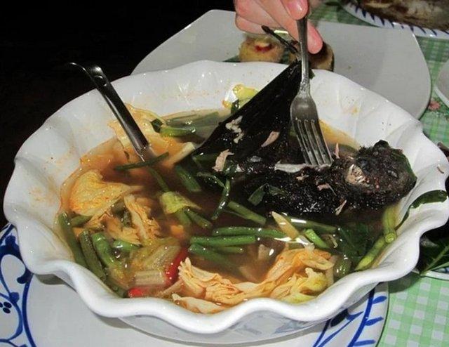 Суп из летучей мыши, Палау