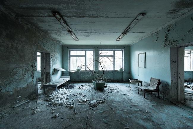 Комната ожидания в госпитале