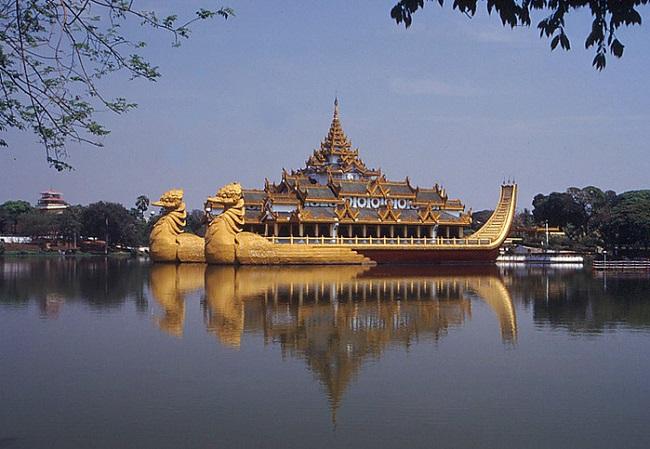 Нейпьидо в Мьянме