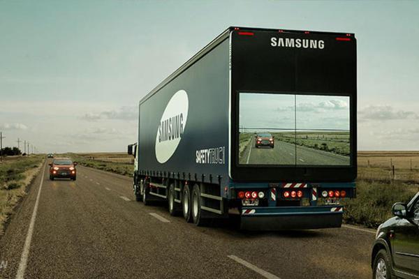 Новые грузовики компании самсунг