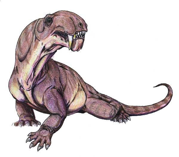 Пермский Ивантозавр