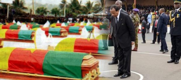 Церемония погребения в Камеруне