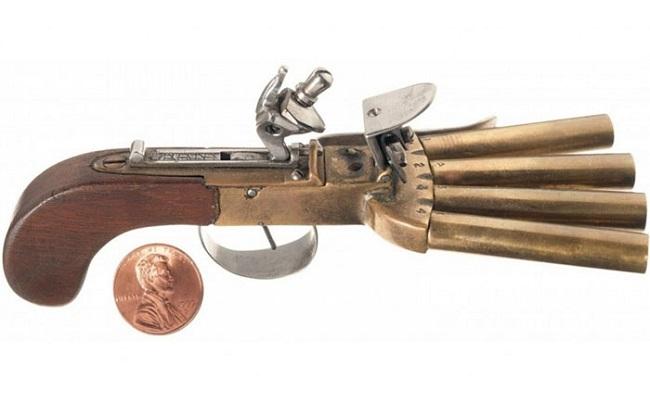 Утконогий пистолет