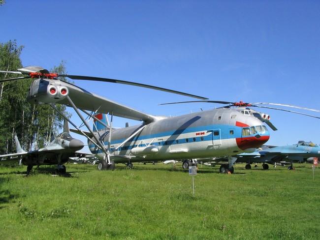 Вертолет Ми-12
