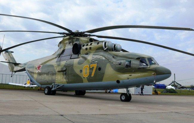 Самый большой вертолет в мире Ми-26