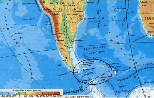 Самый широкий в мире пролив Дрейка расположен между Тихим и Атлантическим океанами