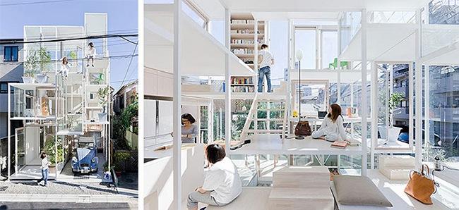 Прозрачный дом, Япония