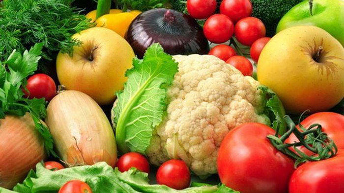 анализ 43 фруктов и овощей