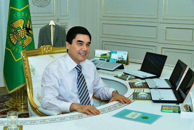Рабочий кабинет президента Туркменистана