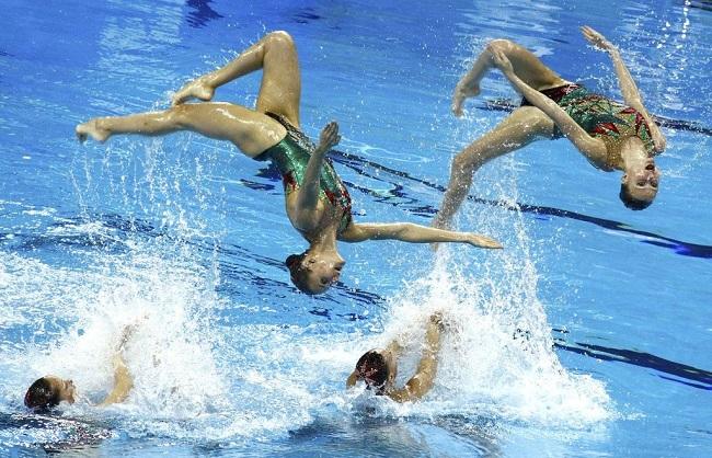 Что еще запрещено в синхронном плавании?