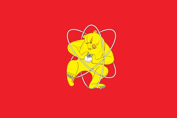 Флаг Железногорска