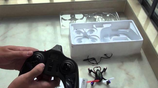 Недорогой квадрокоптер Hubsan X4 H107C