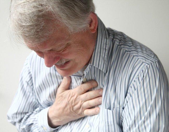 давление в груди