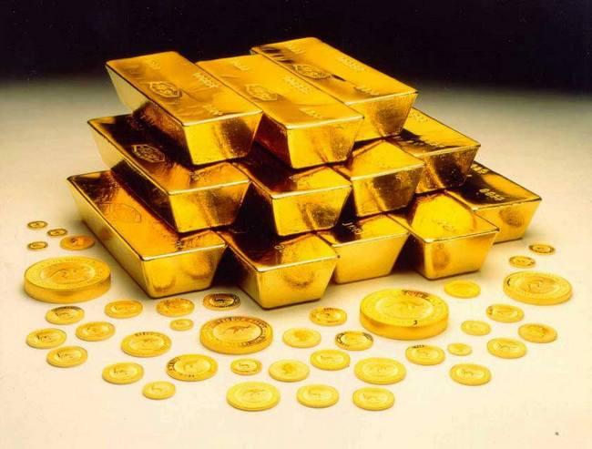 Золото - один из мягких металлов