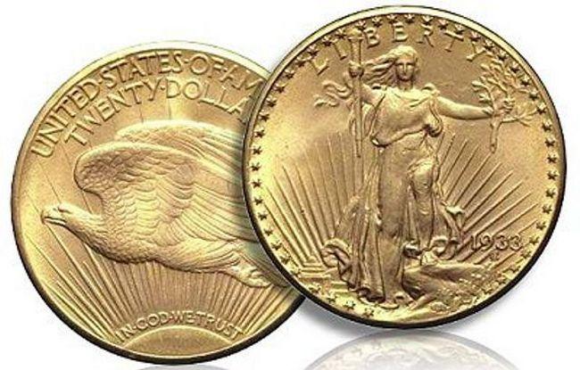 Двойной орел 1933 года