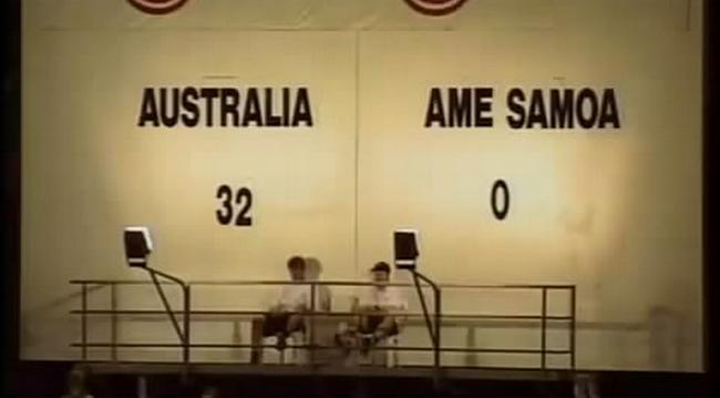 Австралийская сборная разгромила американскую Самоа со счетом 31:0