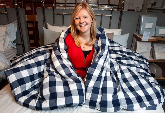 Джо Ансворт – испытательница новых кроватей