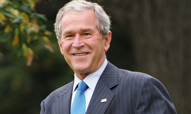 Джордж Буш младший, IQ = 125