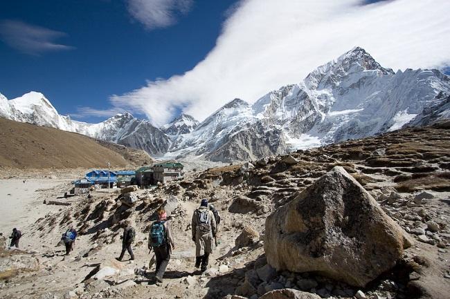 Лагерь у подножия Эвереста, Непал