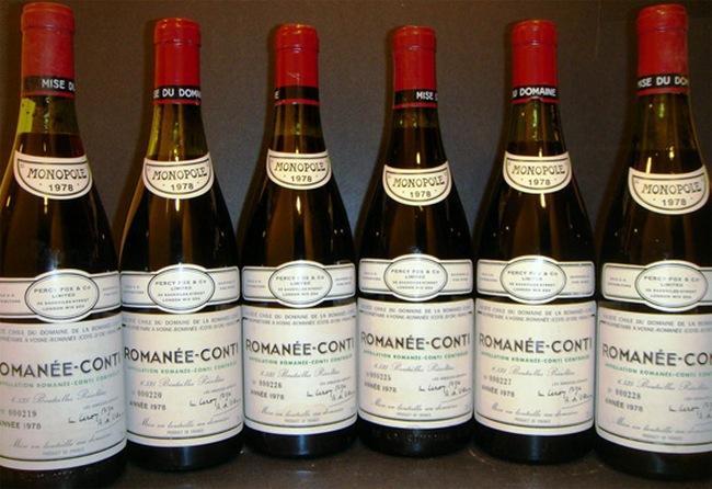 Montrachet Domaine de la Romanee Conti (ур.1978г., Франция)