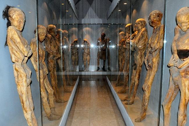 Музей мумий в Гуанахуато, что в Мексике