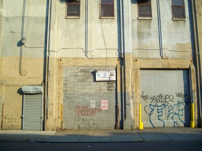 Неудача на складе произведений искусств в Нью-Йорке