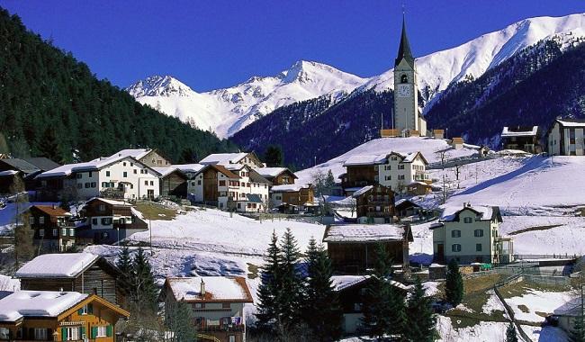 Швейцария – около 47 долларов ежемесячно