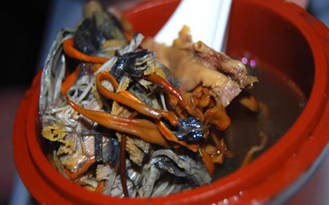 Суп из плаценты оленя - блюдо китайской кухни