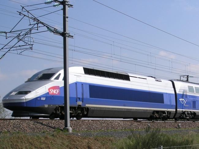 TGV POS V150 во Франции