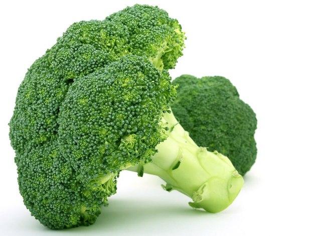 Самый низкокалорийный продукт - брокколи