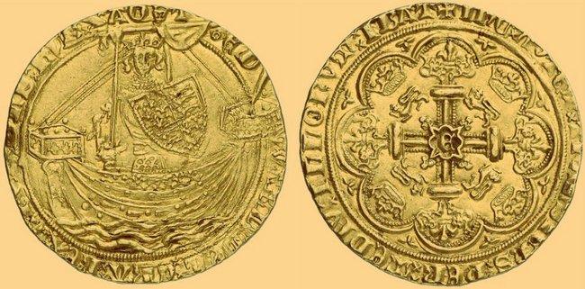 Флорин Эдварда III 1343 года