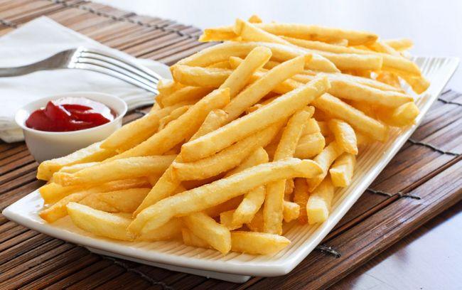 Картофель фри - отличный продукт для набора веса