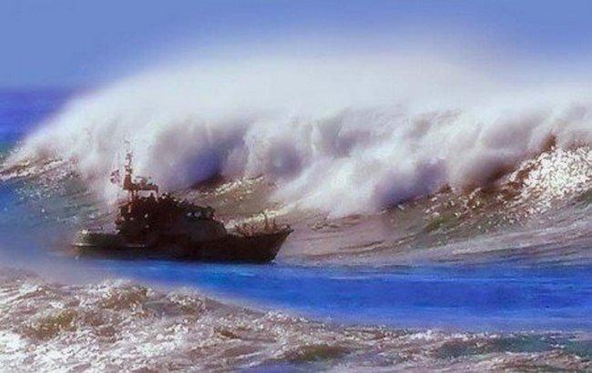 Тихий океан самый бурный из всех океанов