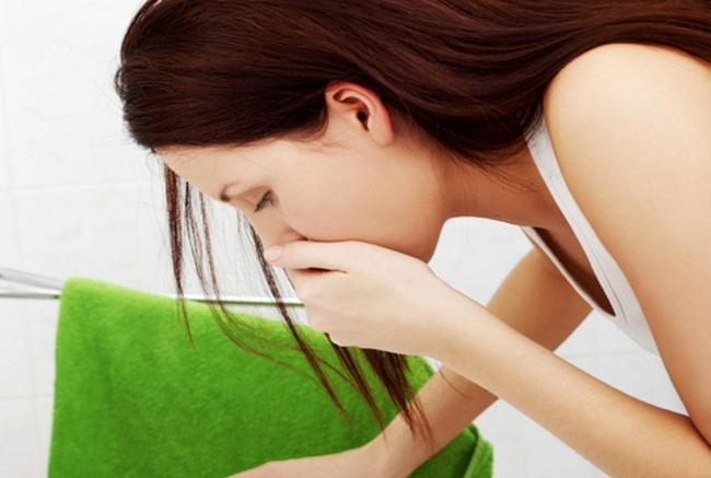 Беременную может начать мучить токсикоз