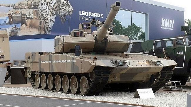 Германский Леопард 2А7