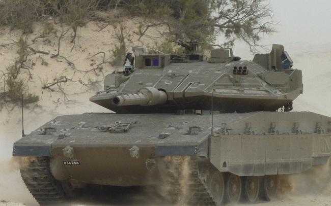 Израильский танк Меркава Mk.4