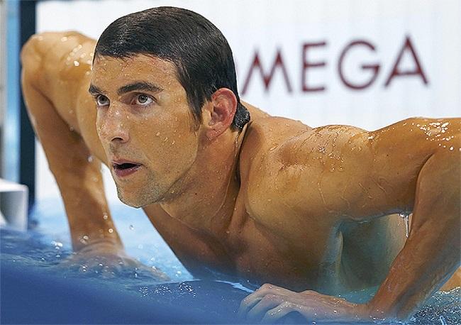 Майкл Фелпс, американский пловец