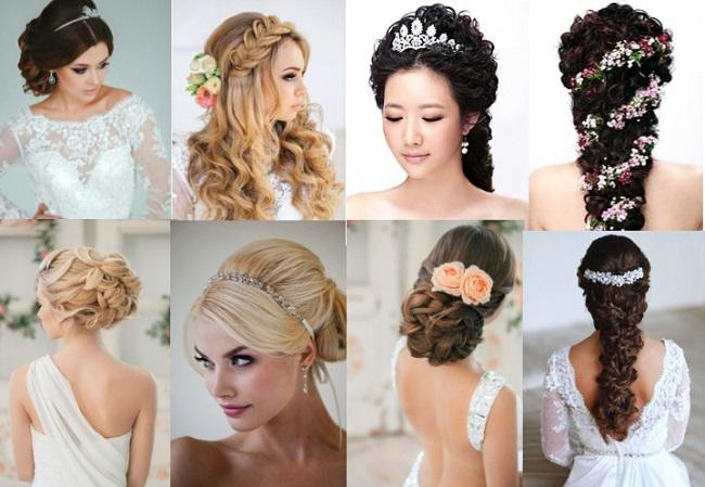 Самые красивые свадебные прически в мире