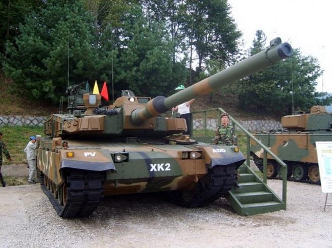 Южнокорейский танк К2 Черная пантера