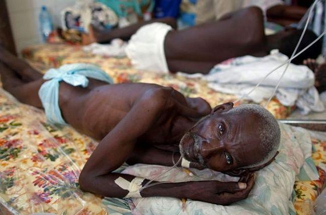 Холеру можно назвать оружием массового поражения